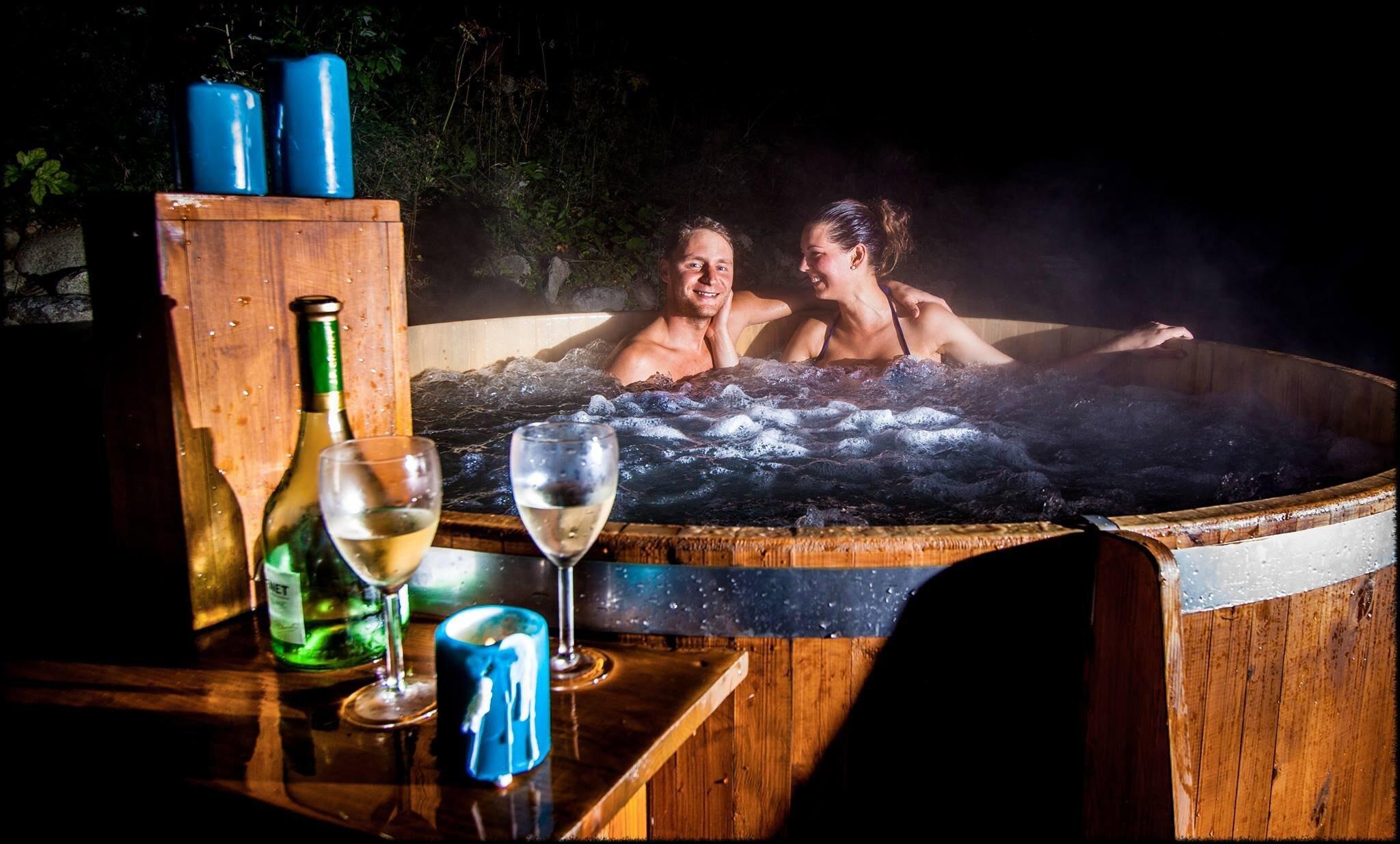 Užijte si relaxaci ve finské kádi