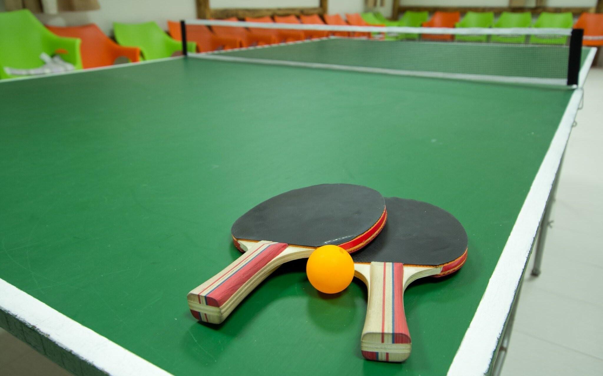 Zahrajte si ping pong