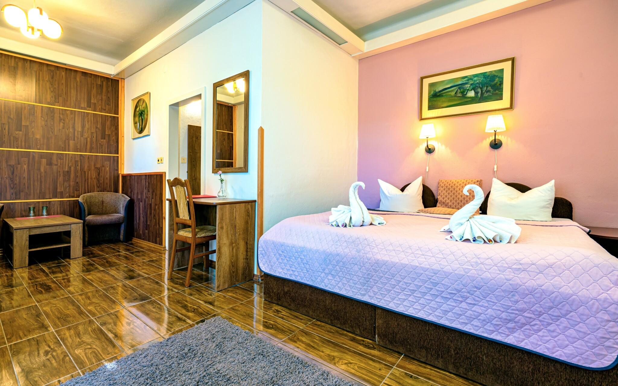 Izba Standard, Hotel Džbán v Karlovej Studánke