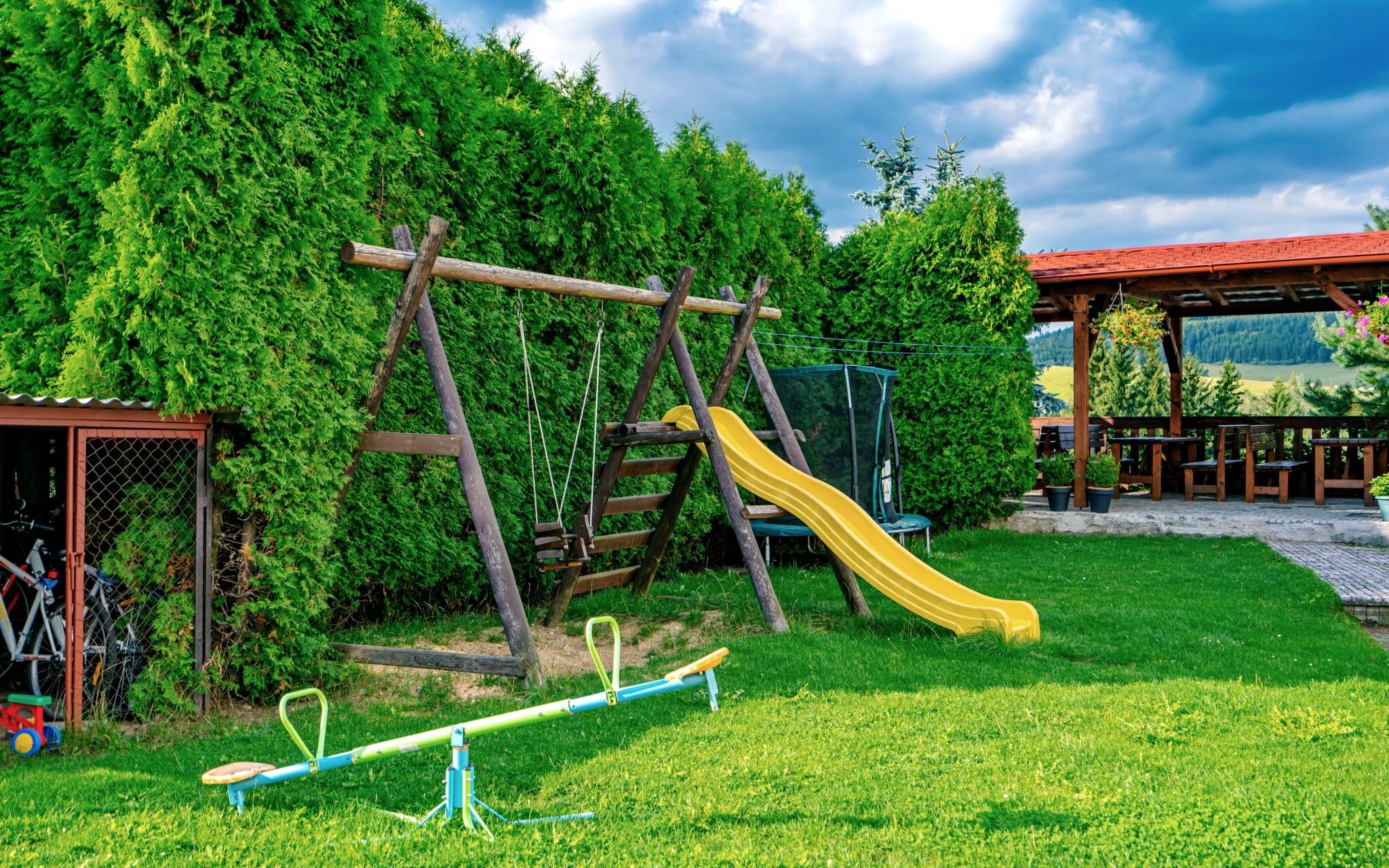 Líbit se tu bude také dětem, dětské hřiště