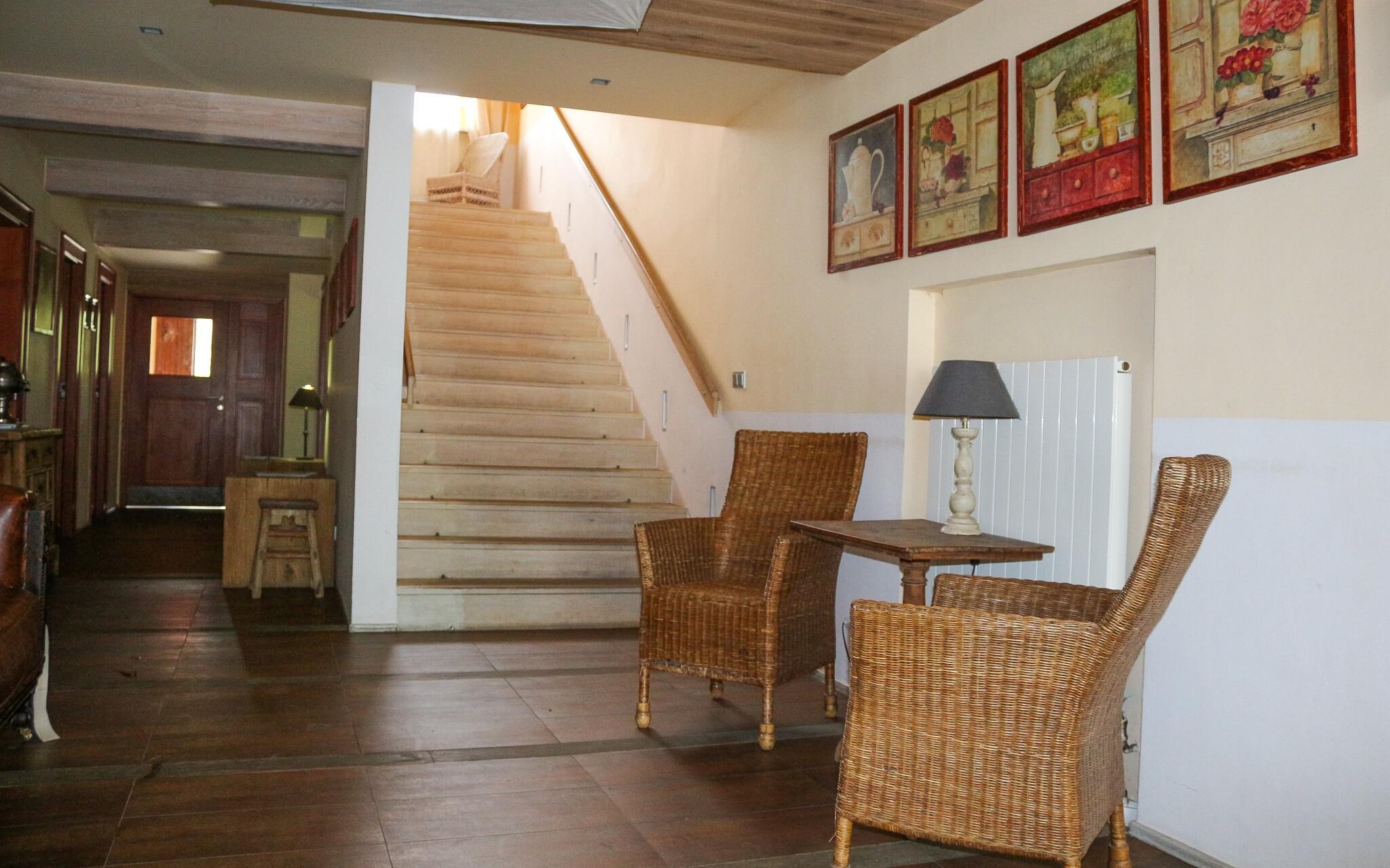 Interiéry hotela majú jedinečnú atmosféru, recepcia