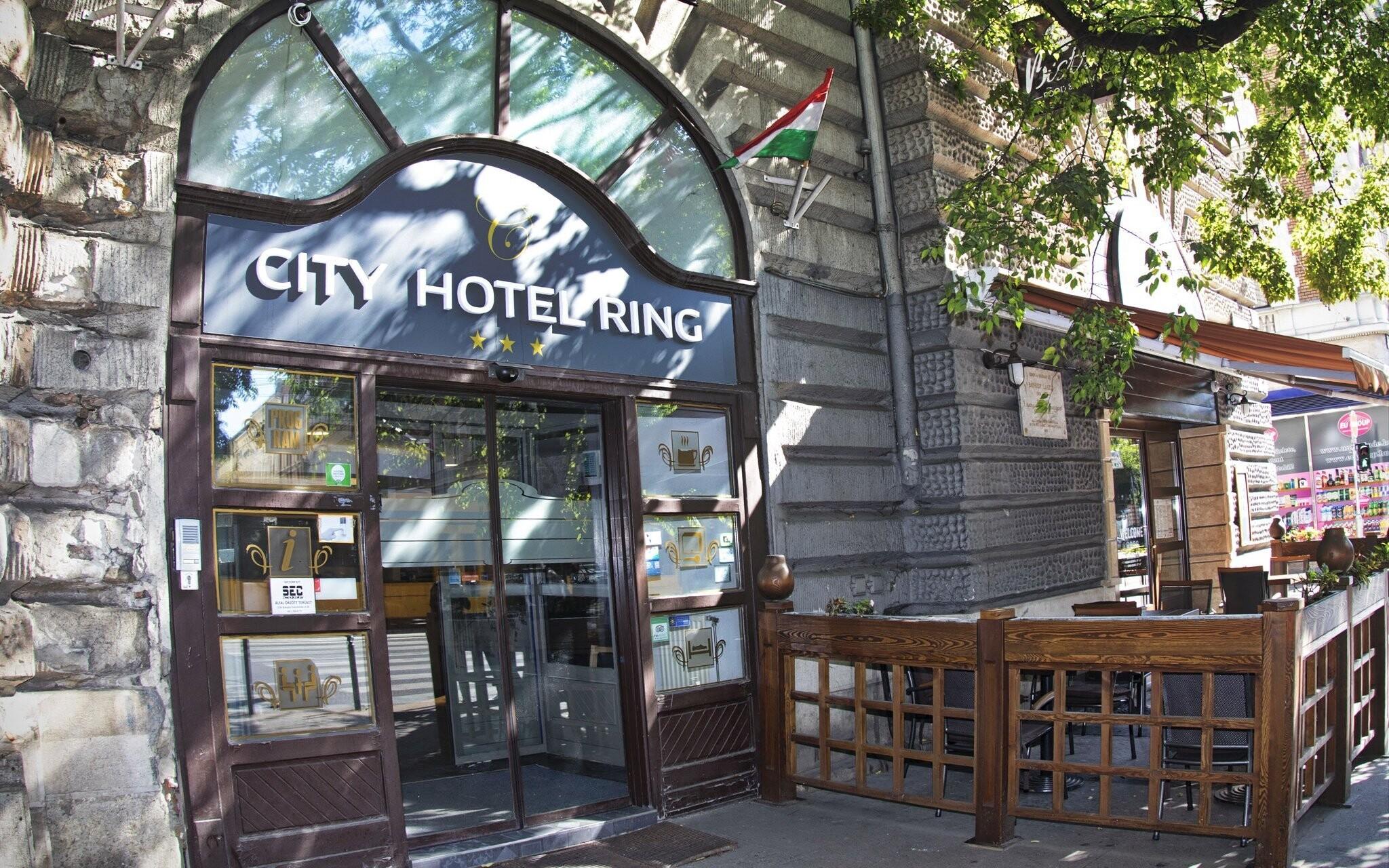 City Hotel Ring priamo v centre Budapešti