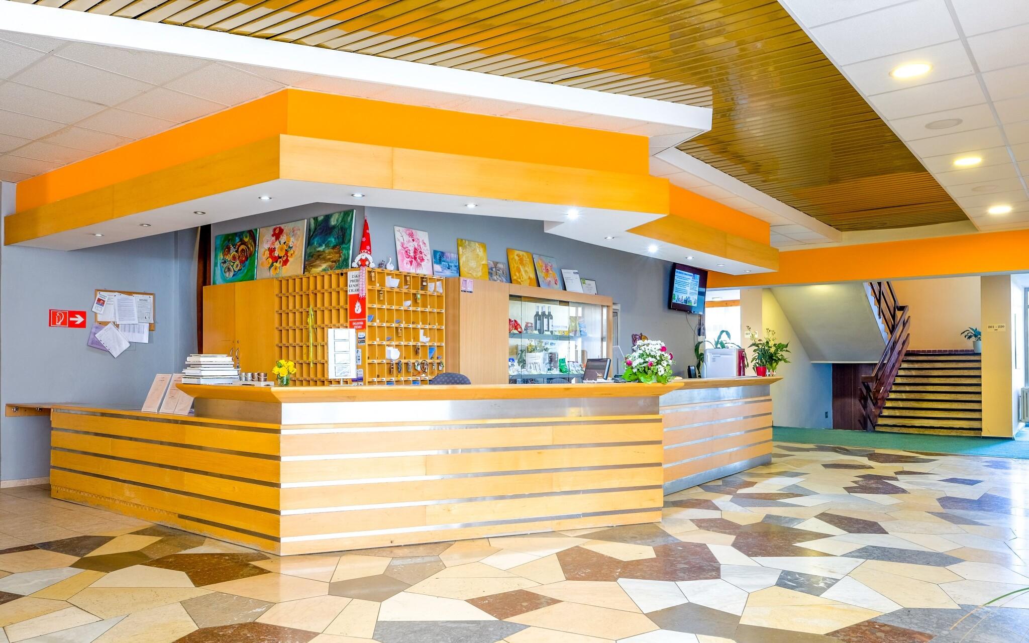 Príjemné interiéry hotela Flóra