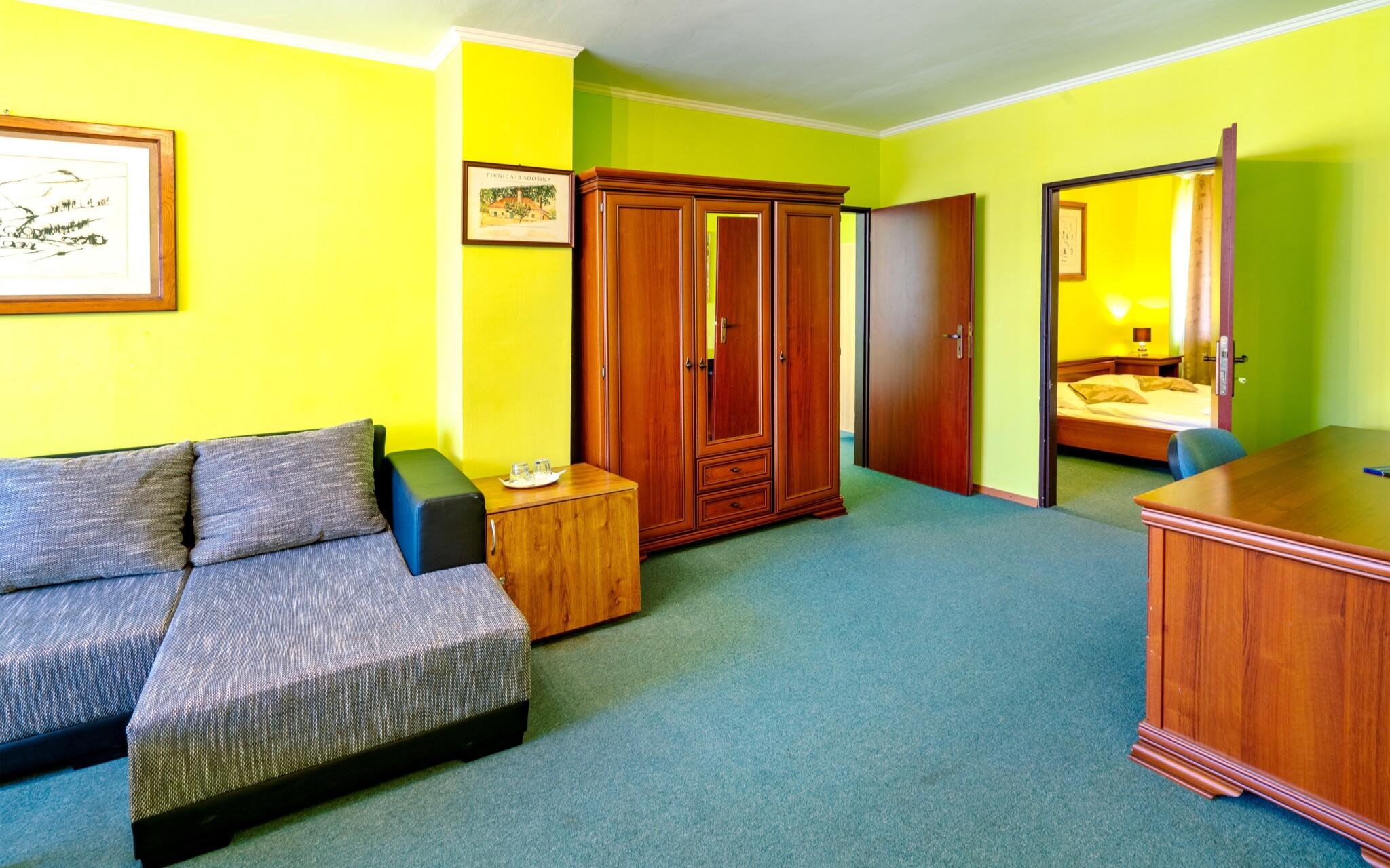 Za príplatok sa ubytujte v apartmáne, Hotel Satelit