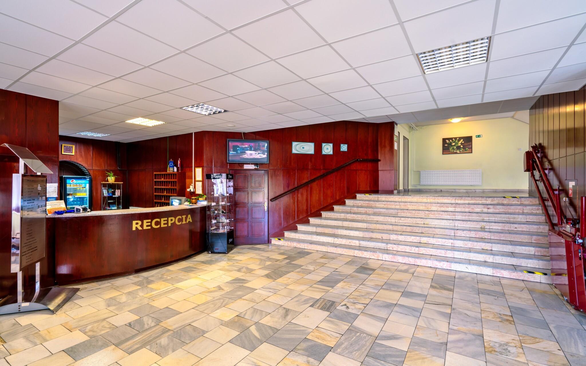 Recepcia, Hotel Satelit ***, Piešťany