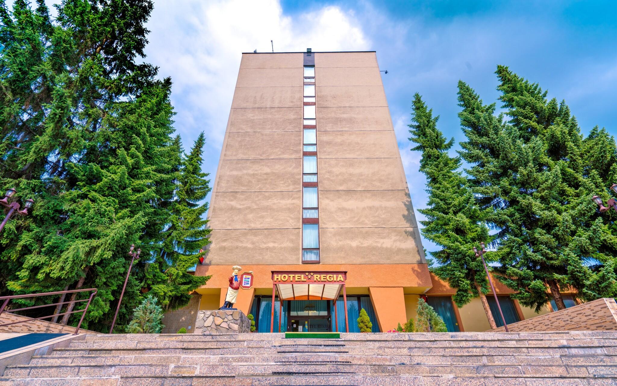 Hotel Regia *** nájdete v obľúbenom meste Bojnice