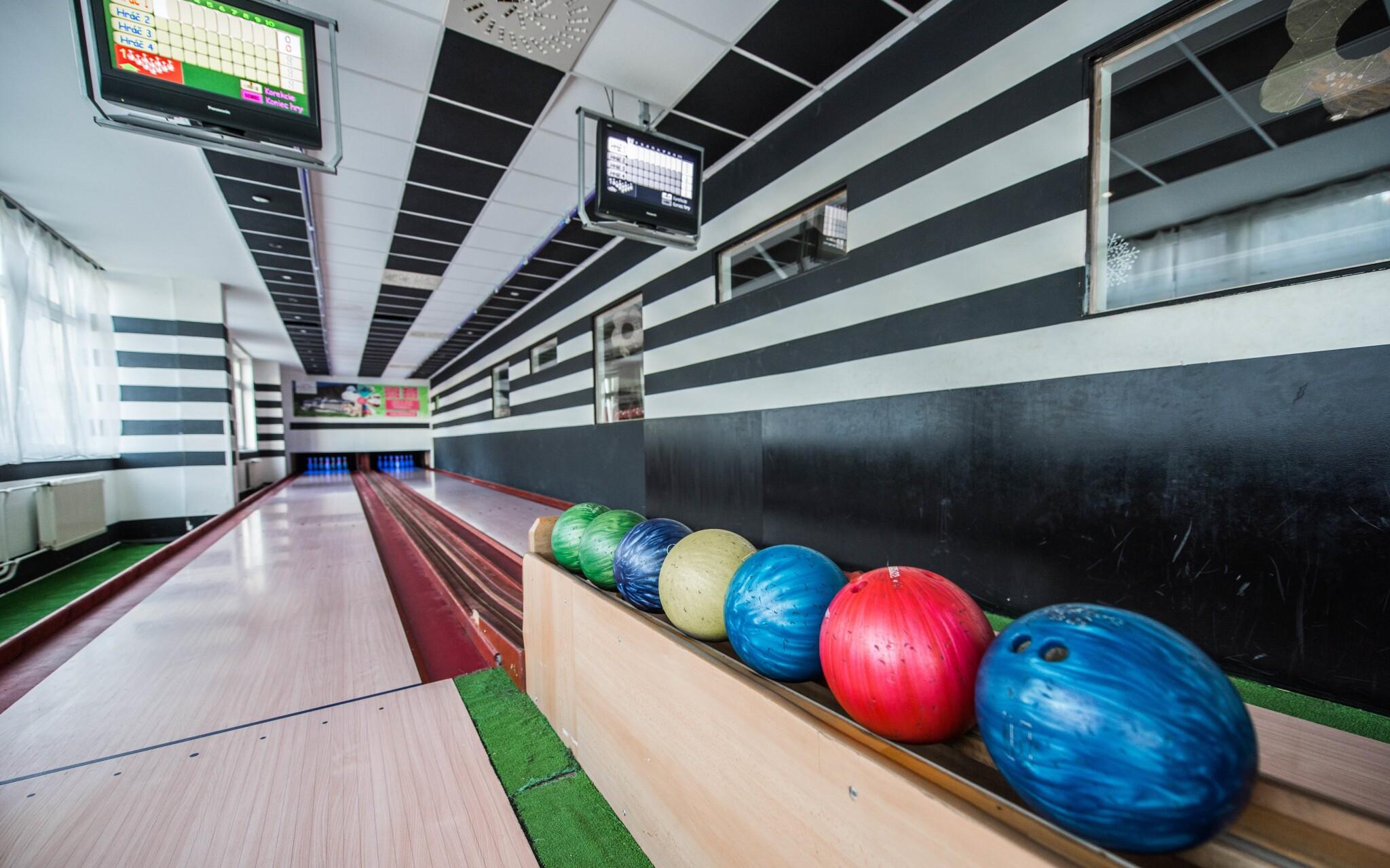 A zahráte si bowling priamo na hoteli