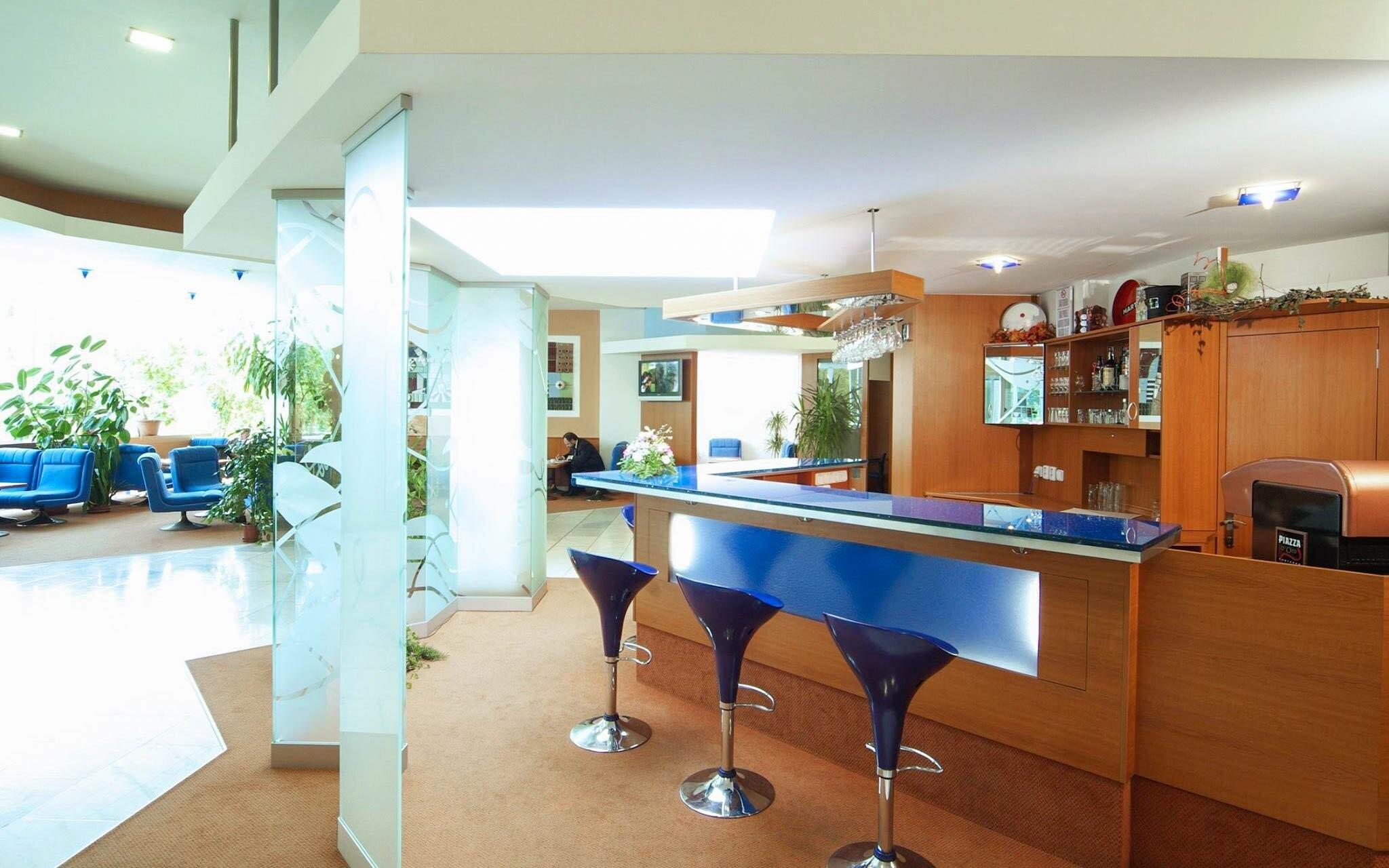 V hoteli nájdete tiež lobby bar