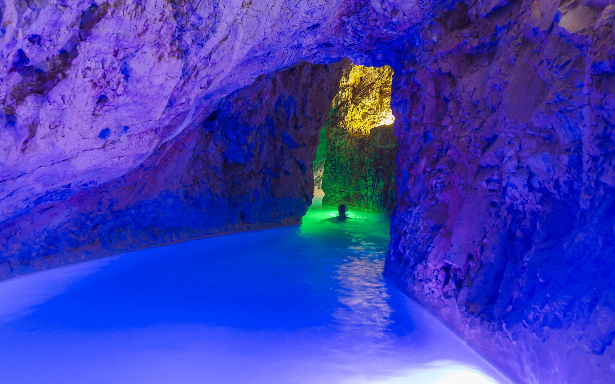 Jaskynné kúpele Miskolc Tapolca Maďarsko
