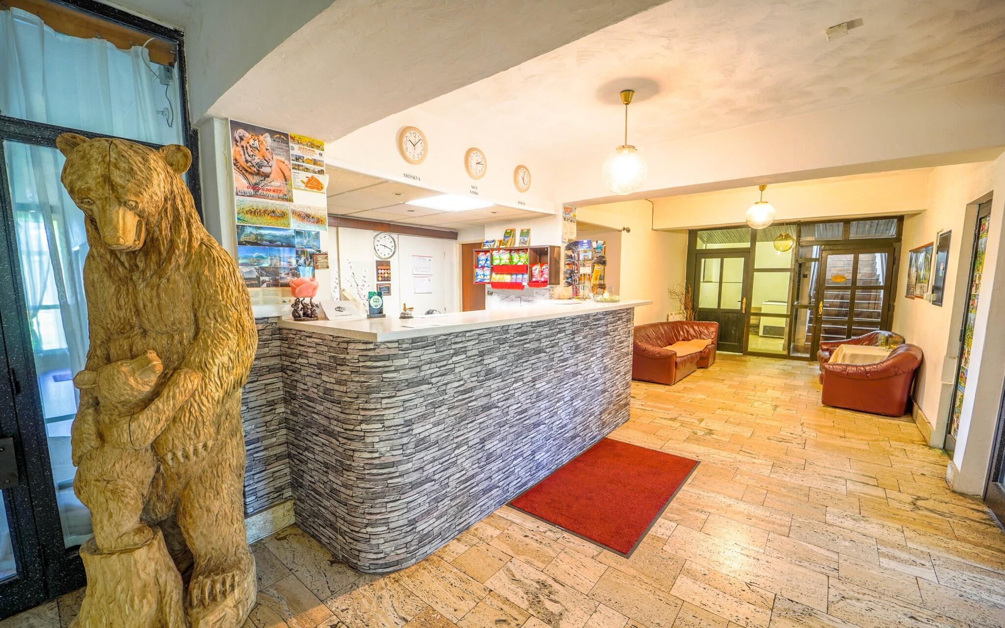 Recepce Hotelu Tatranec, Vysoké Tatry