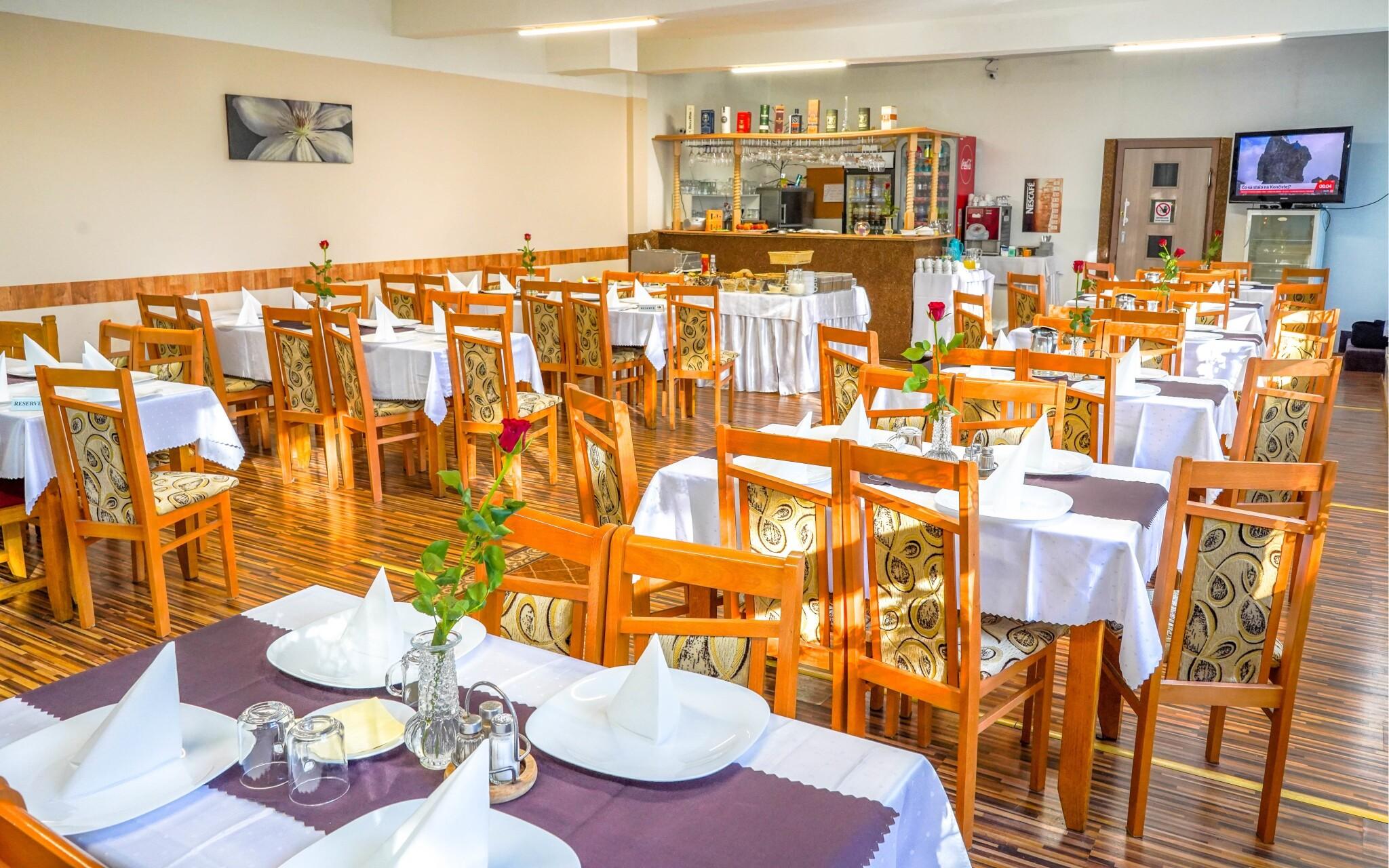 Restaurace, polopenze, Hotel Tatranec, Vysoké Tatry