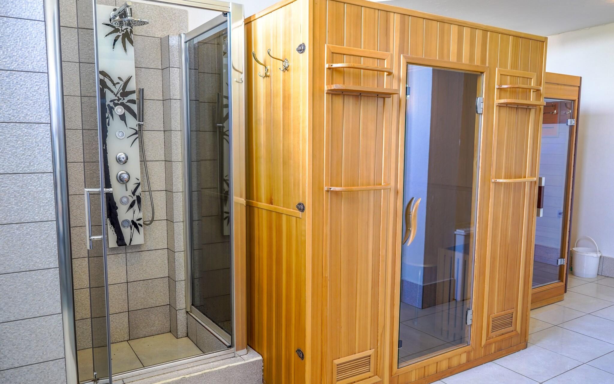 Finská a infra sauna vás prohřejí