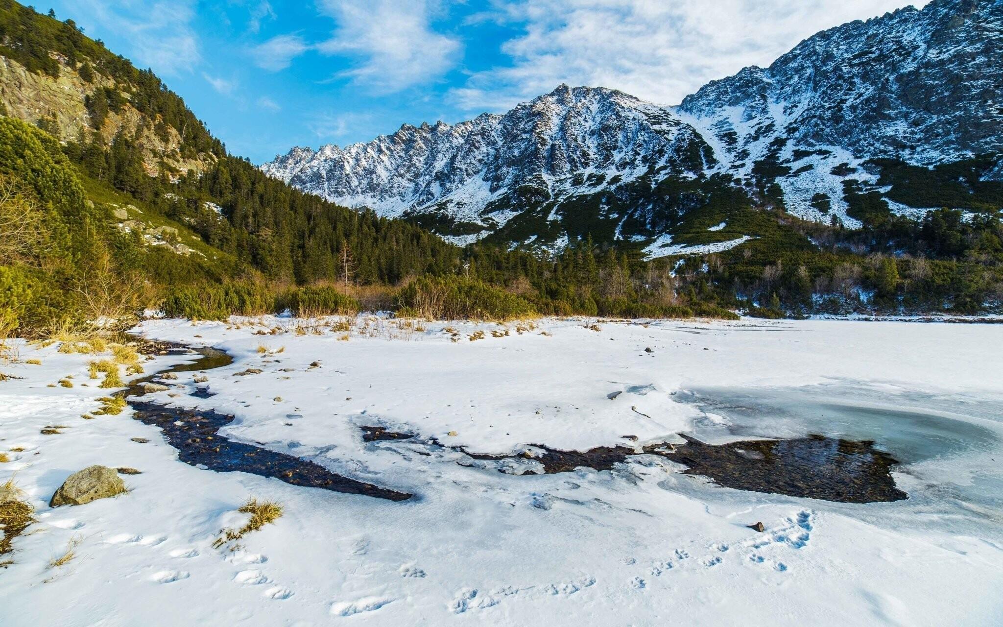 Vysoké Tatry, Slovensko, príroda, hory