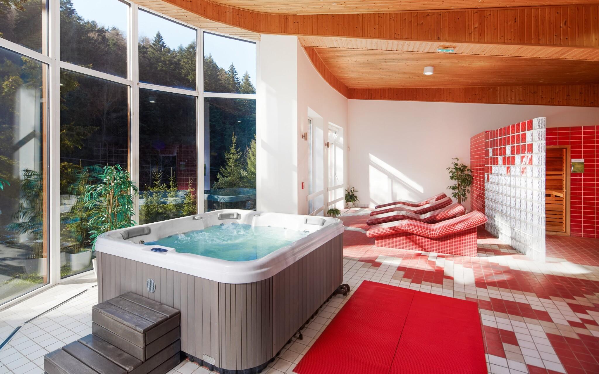 Všechny vaše starosti odplavou v hotelovém wellness