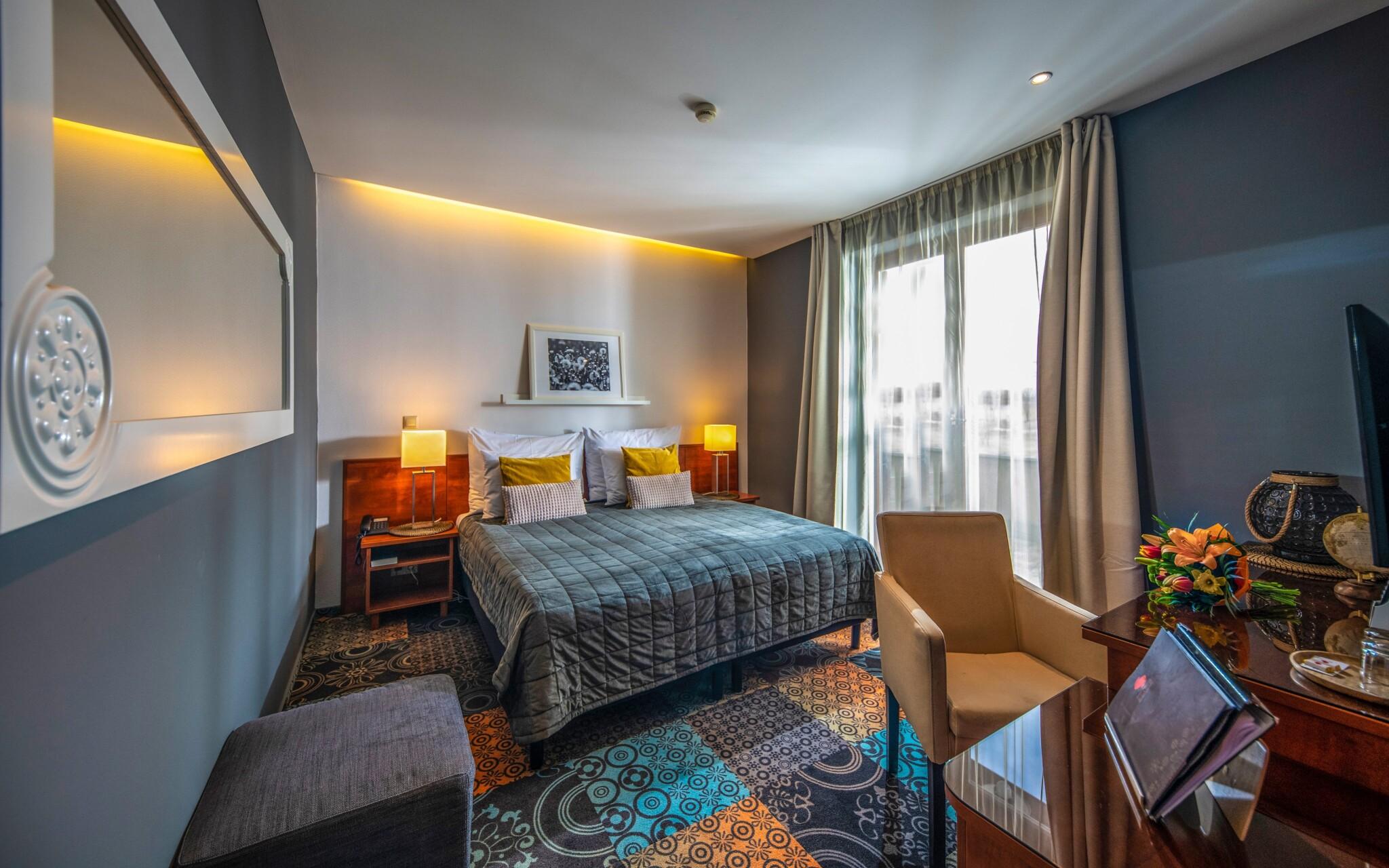 Izby sú komfortné a útulné