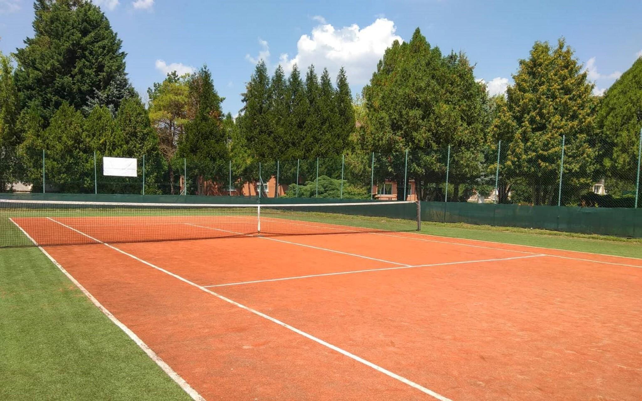 Zahrajte si tenis, hřiště, Wellness hotel Patince
