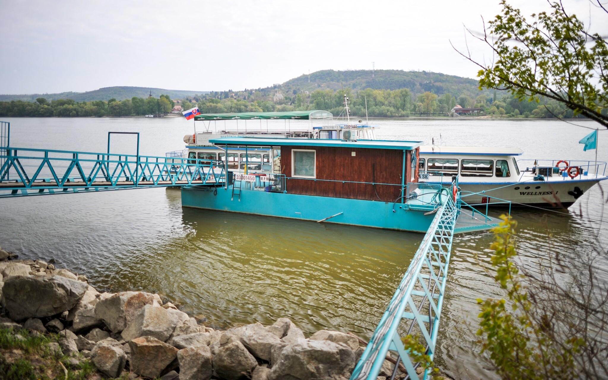 Užite si plavbu po Dunaji, prístav, Wellness hotel Patince