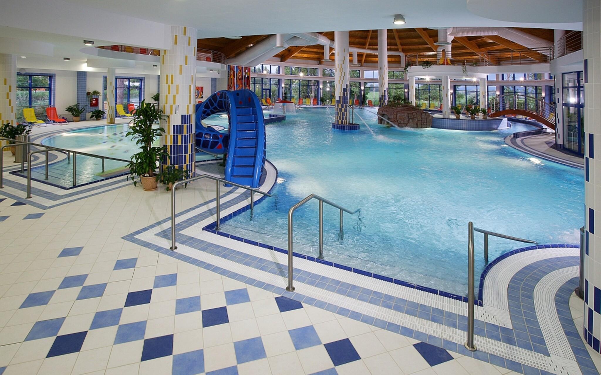 Termální wellness, bazén, Wellness hotel Patince ****