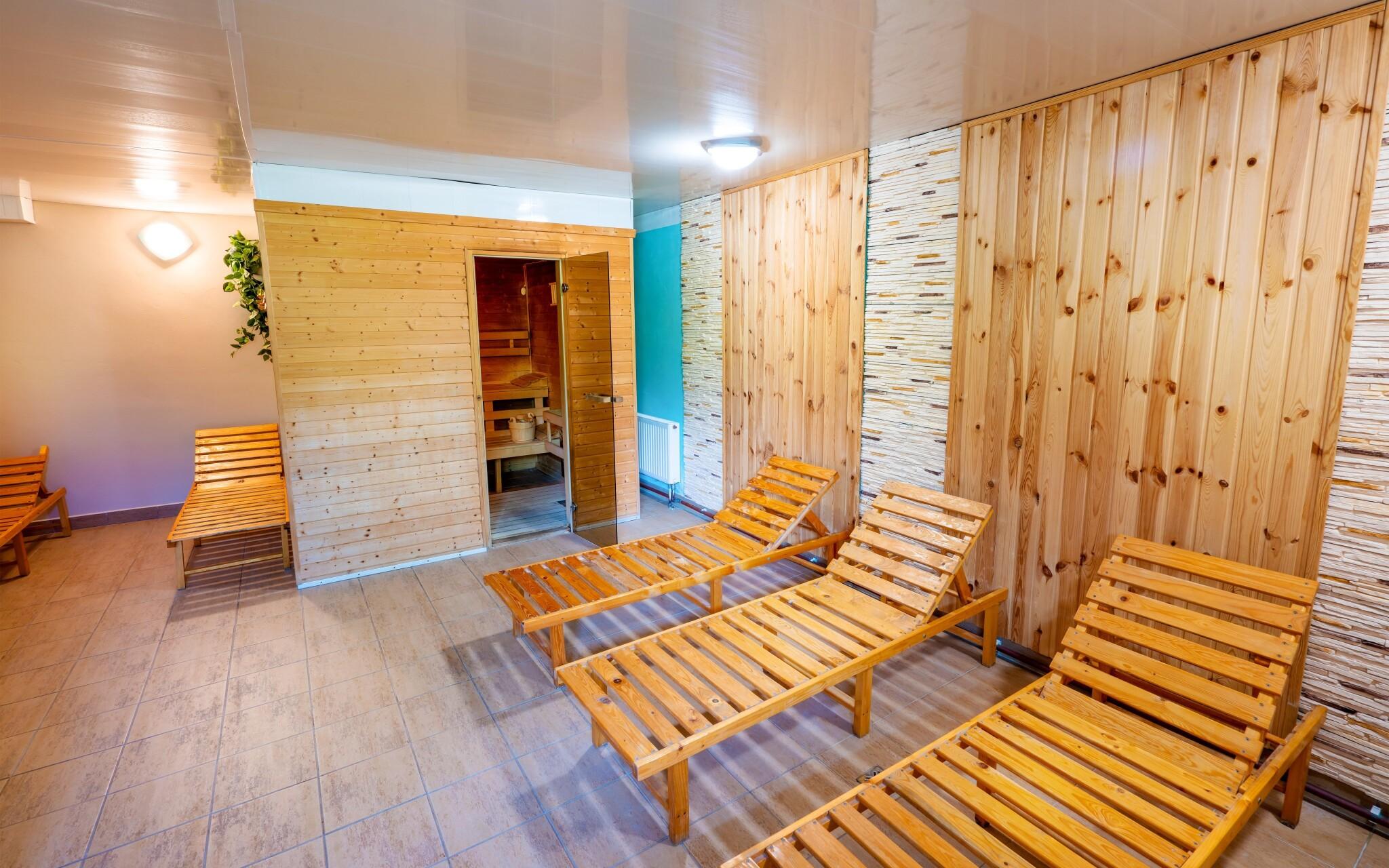 Wellness, sauna, Hotel Park ***, Branná, Jeseníky