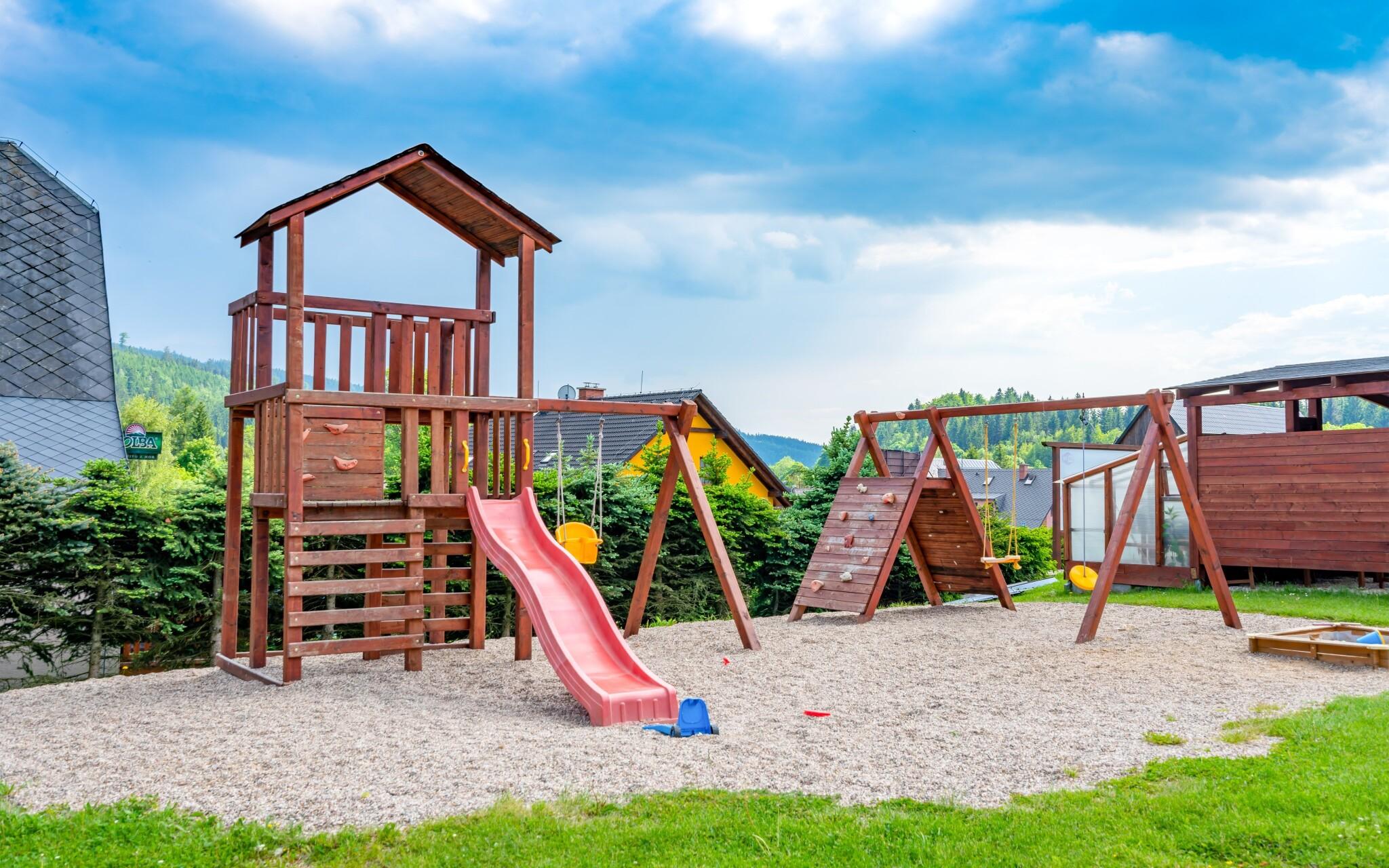 Dětské hřiště, Hotel Park ***, Branná, Jeseníky