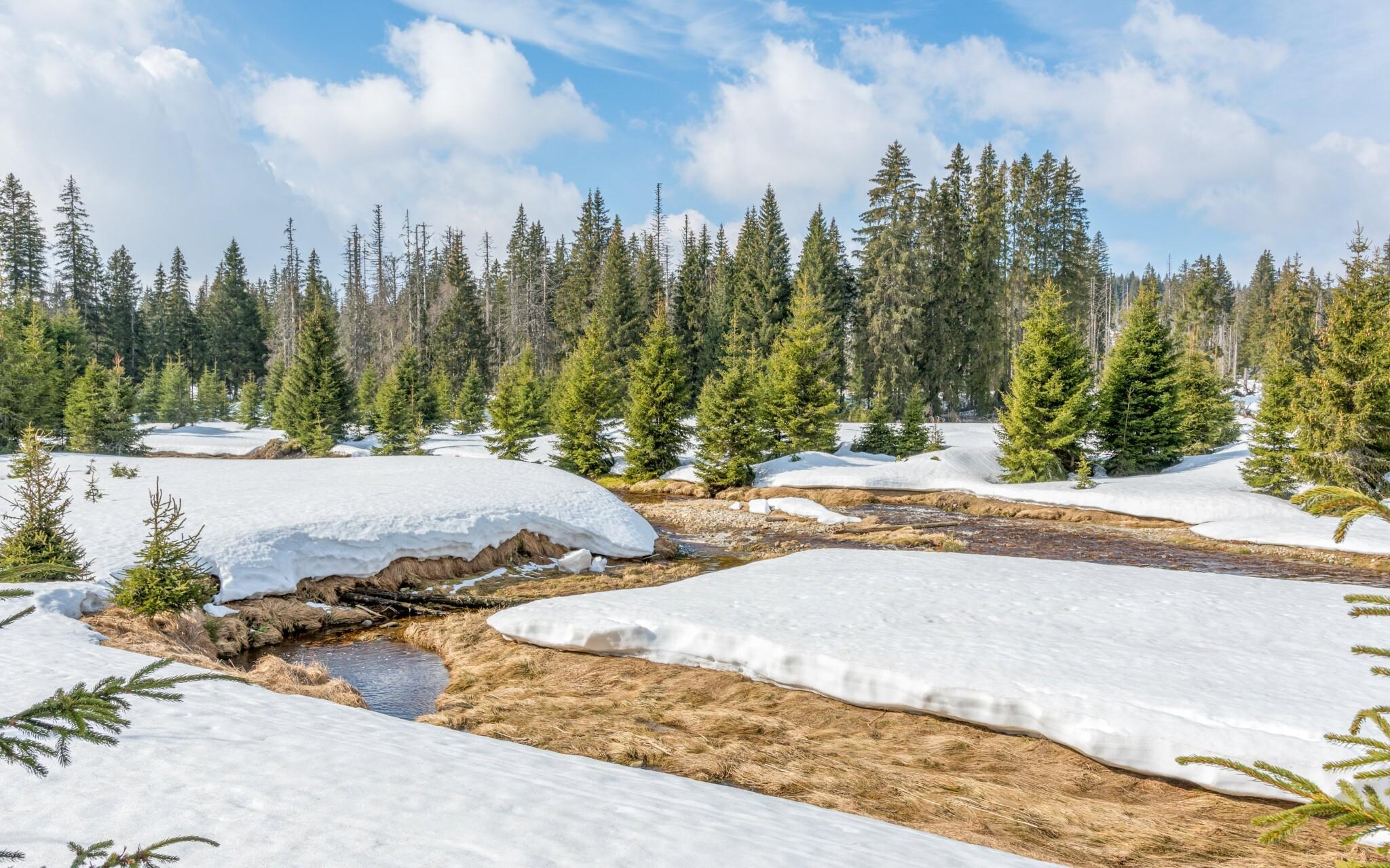 Užite si zimný silvestrovský pobyt na Šumave