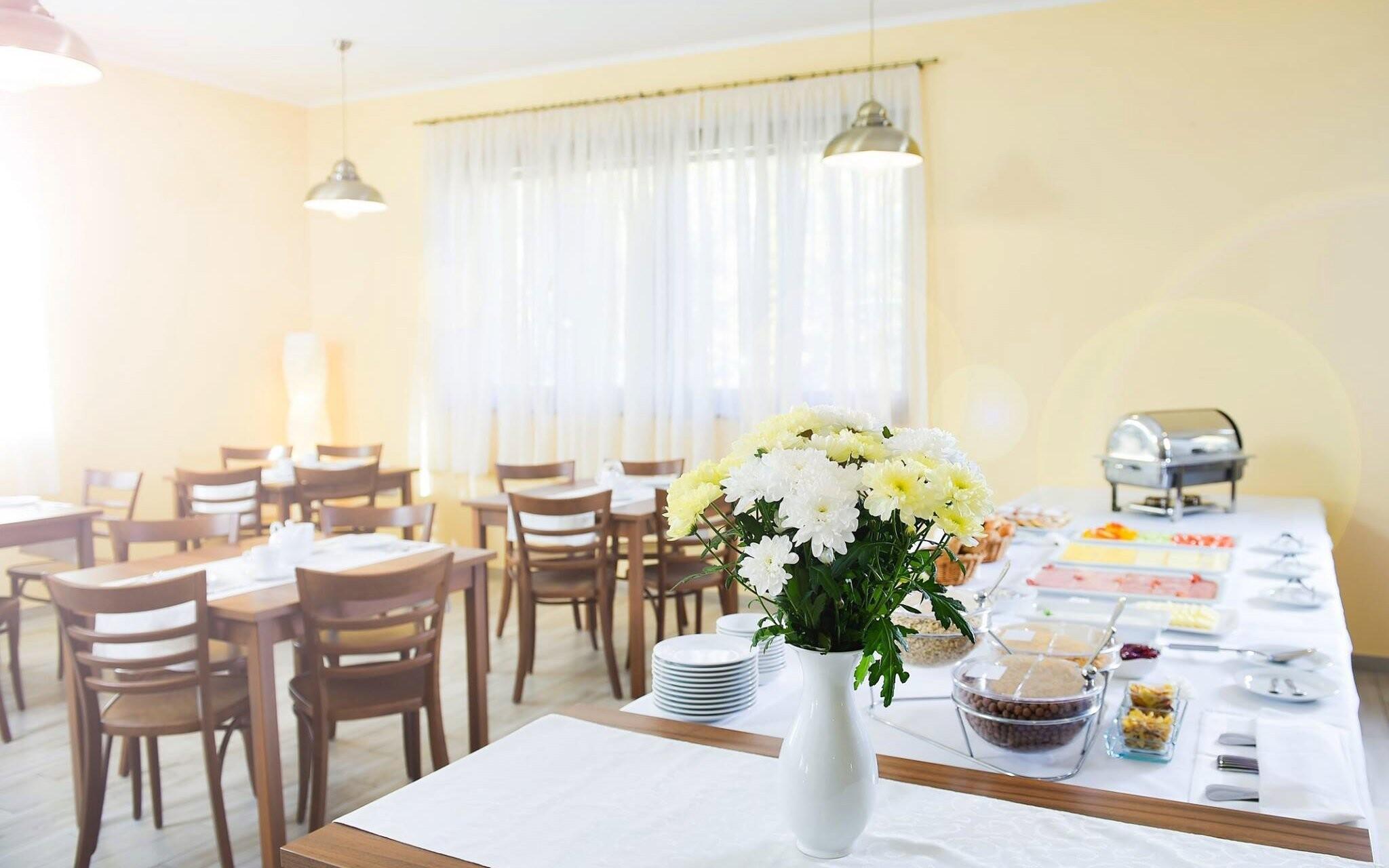 V hotelovej reštaurácii si pochutnáte na skvelých pokrmoch
