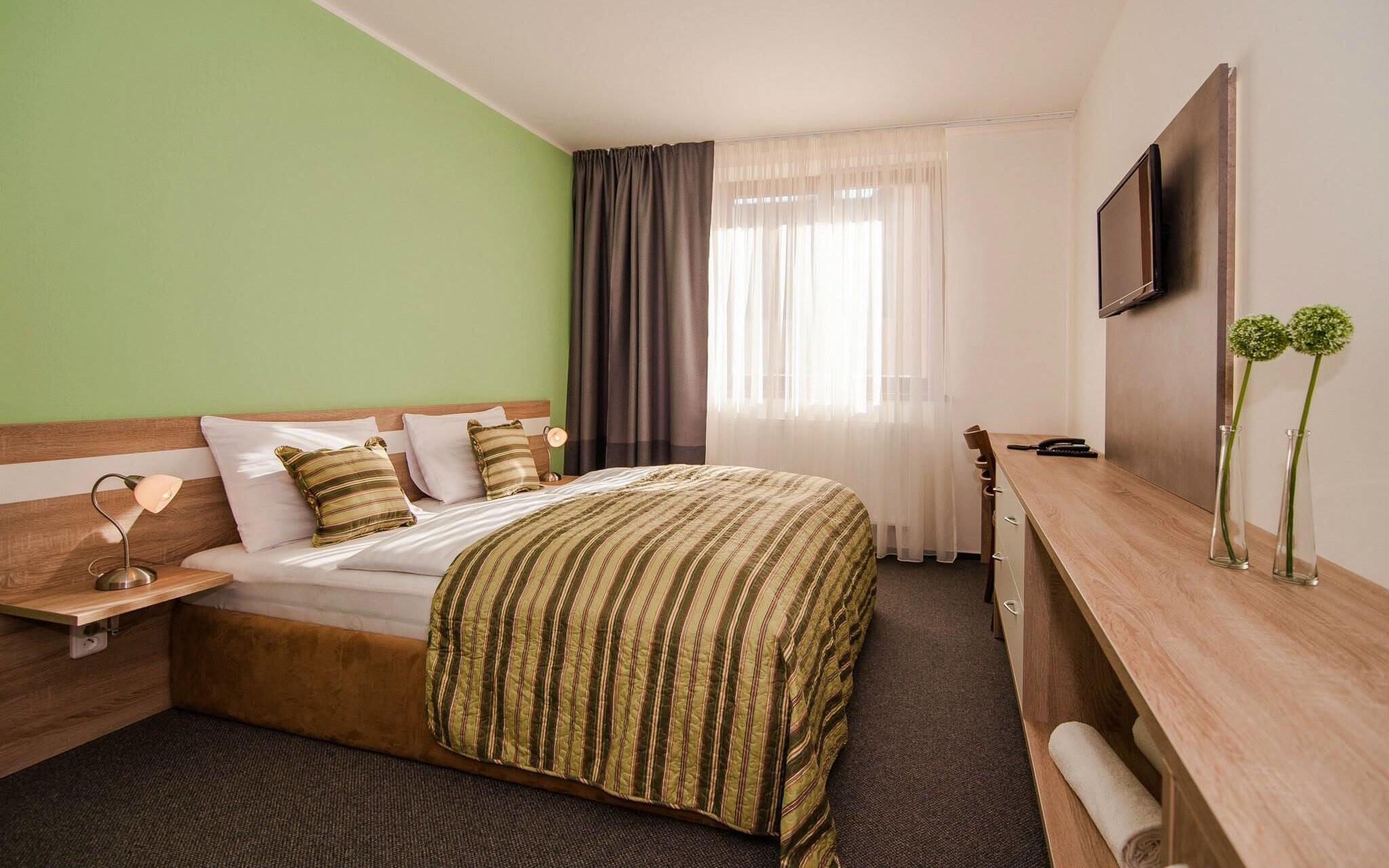 Izby v Amantis Vital Hoteli sú moderné a komfortné
