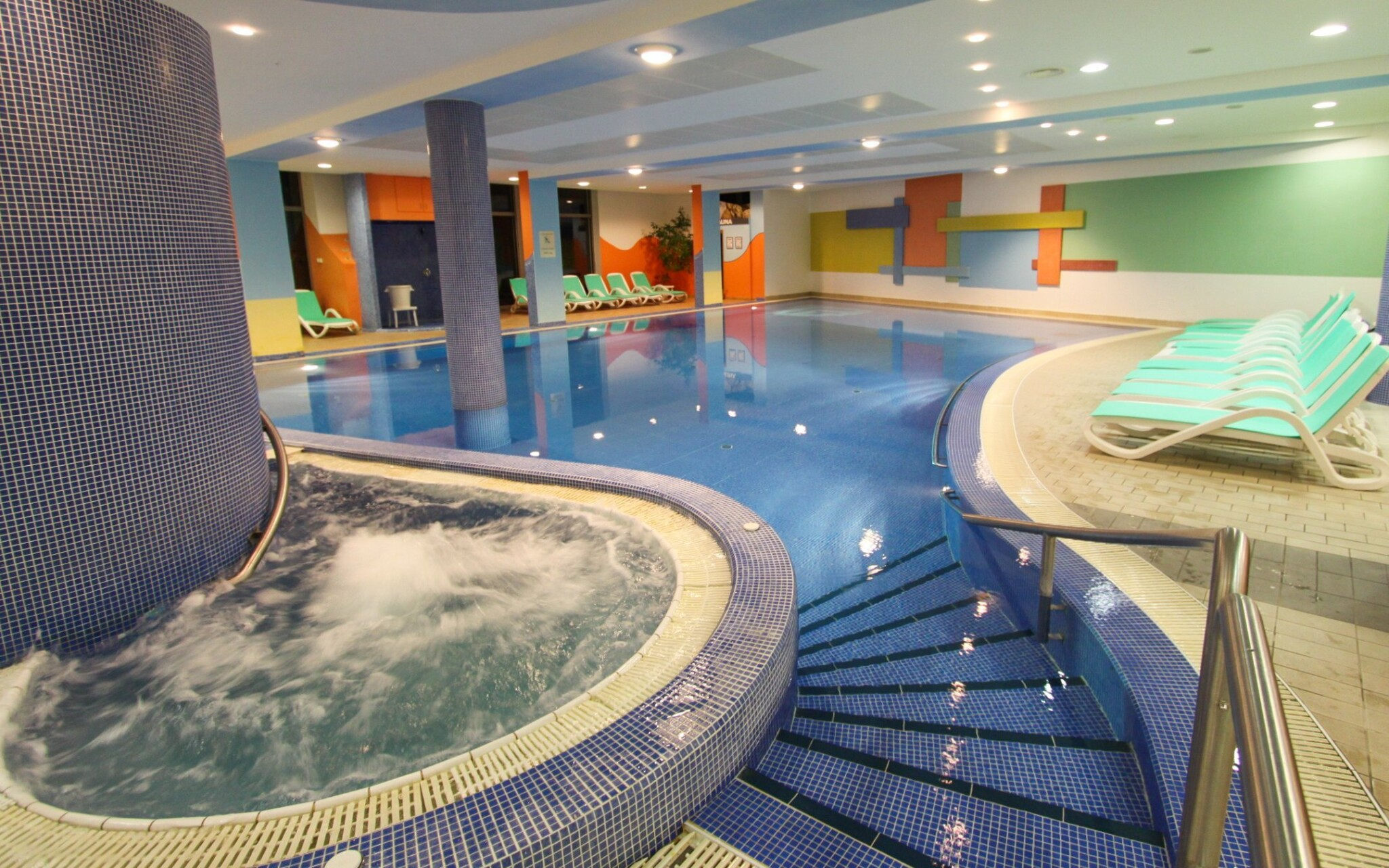 Bazén vo wellness, Hunguest Hotel Répce GOLD ****, Bük