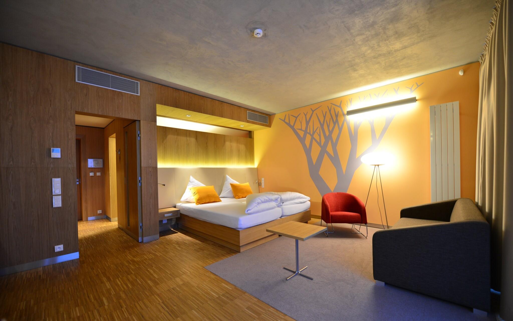 Interiéry pokojů, Hotel Antonie ****, Jizerské hory