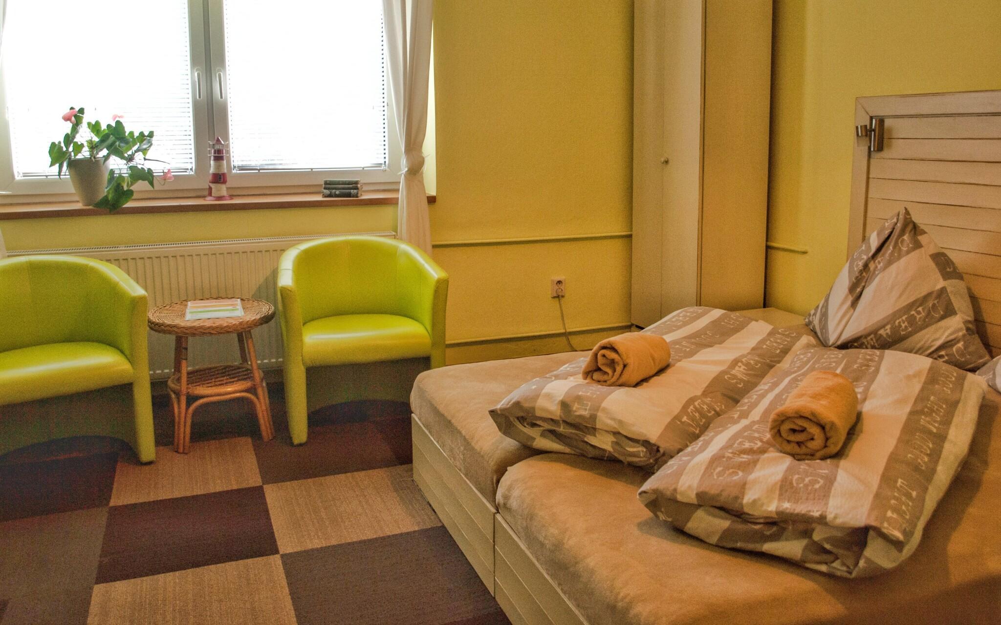 Interiéry izieb v Pensióne U Háje, Nedošín, Litomyšl