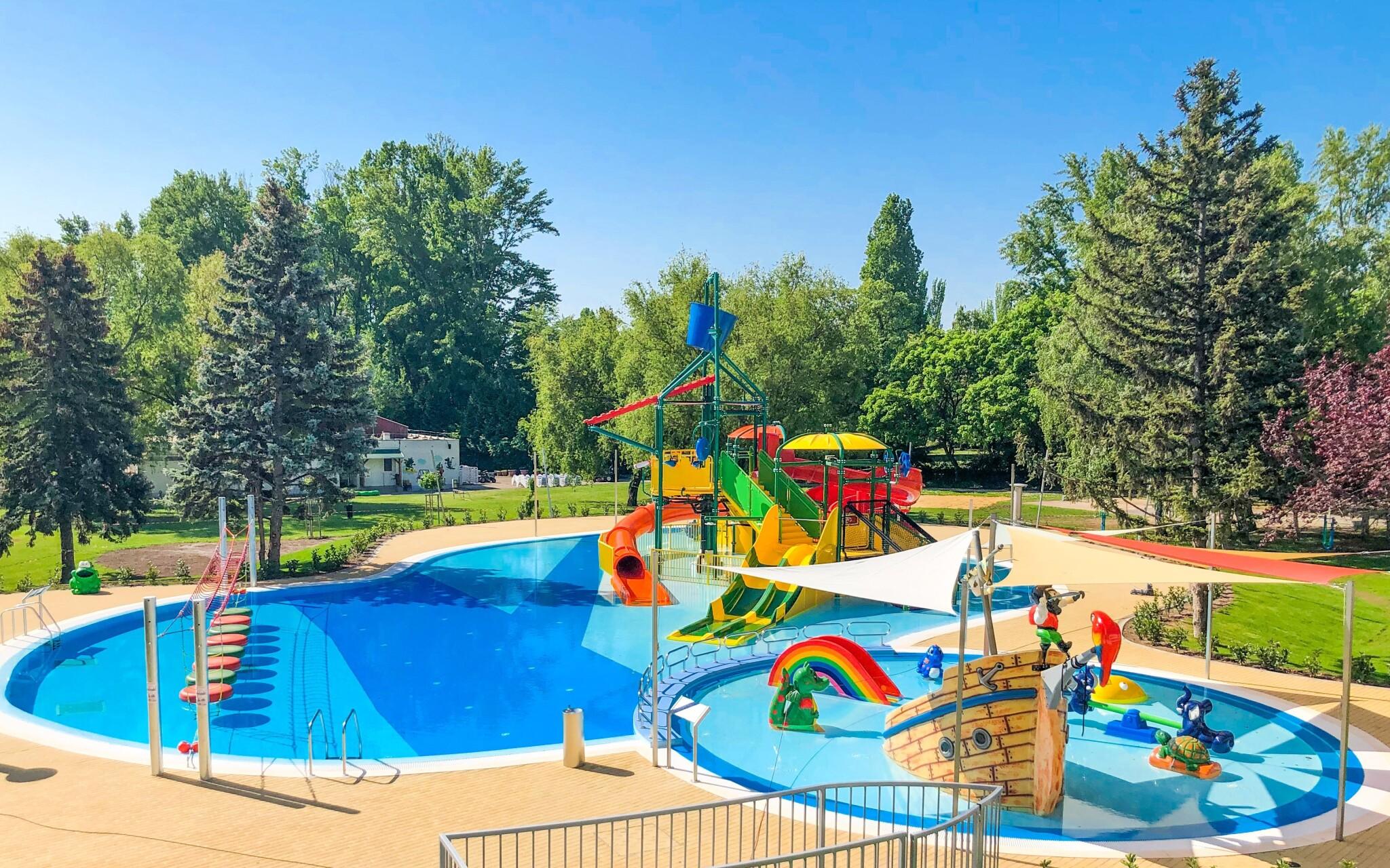 Detský bazén, Danubius Hotel Marina, Balatonfüred, Balaton