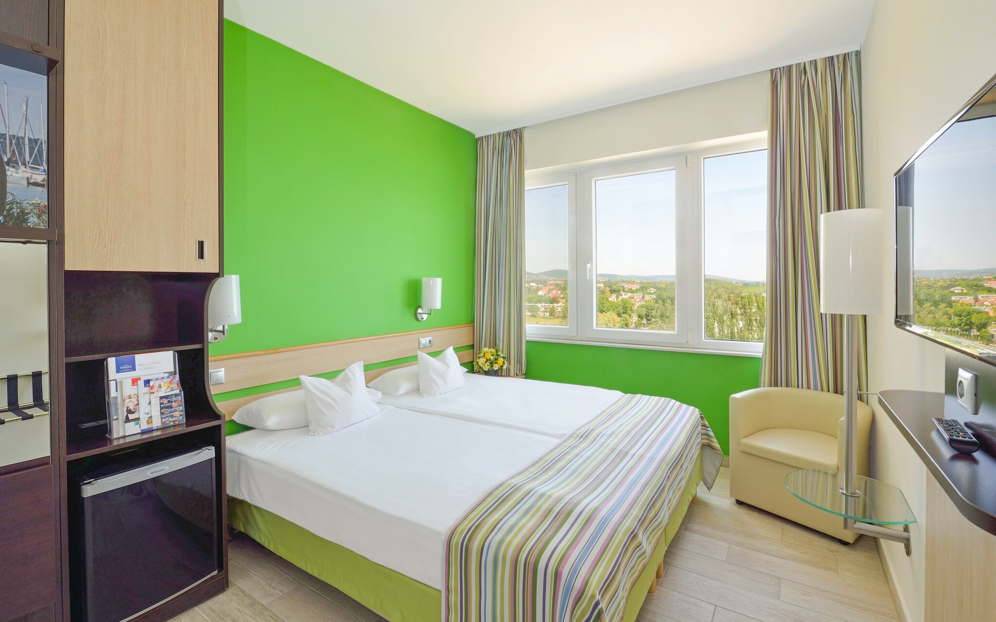 Izba Superior, Danubius Hotel Marina, Balatonfüred, Balaton