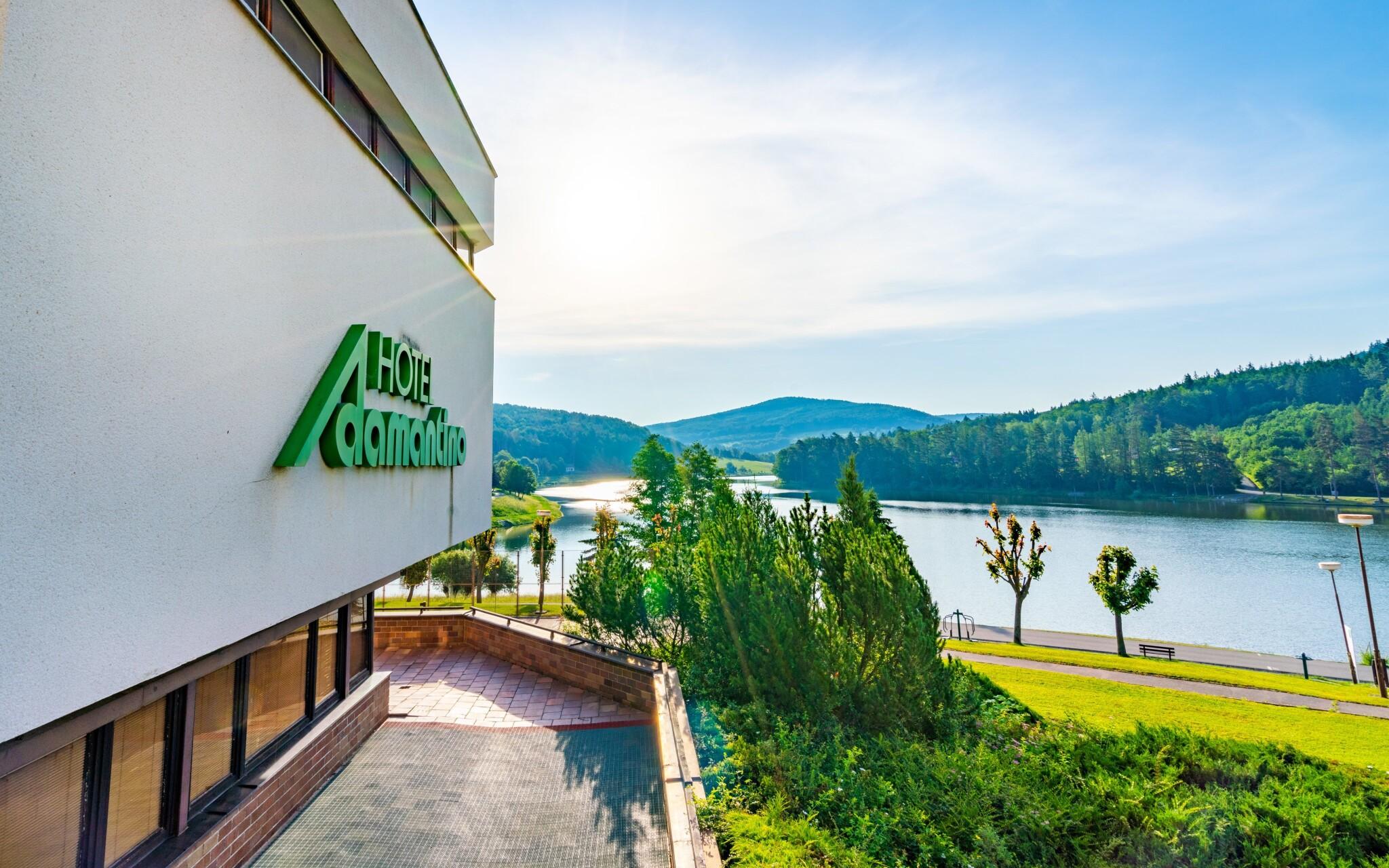 Hotel Adamantino u prehrady Luhačovice
