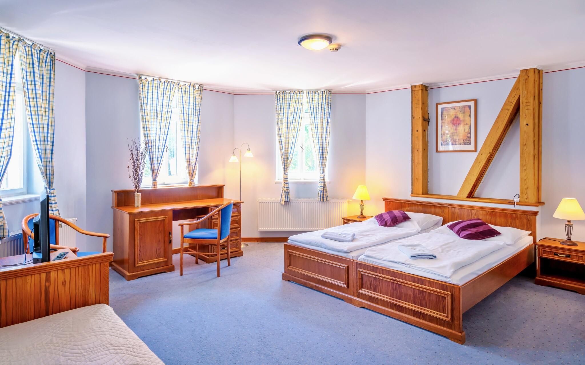 Pokoje jsou dostatečně prostorné, Pension Vila Julie