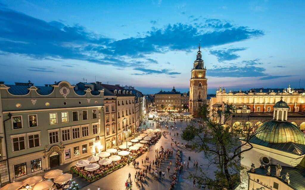 Objevujte evropskou metropoli Krakov