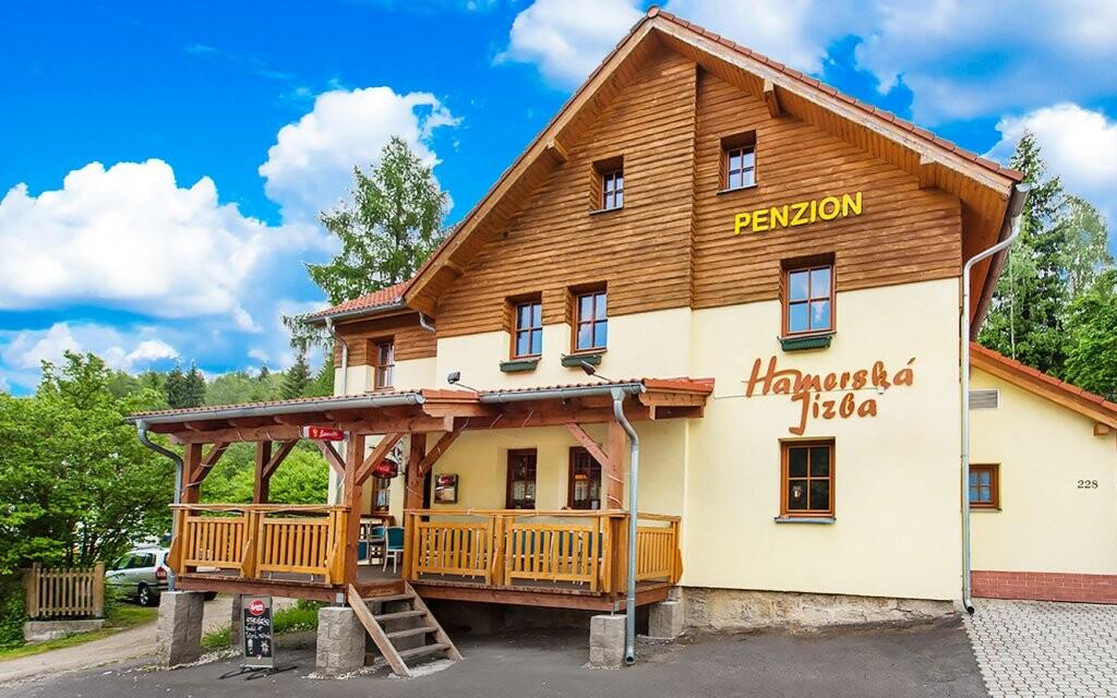 Penzion Hamerská Jizba, Nové Hamry v Krušných horách
