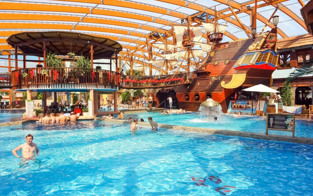 Tatralandia je jedným z najobľúbenejších aquaparkov
