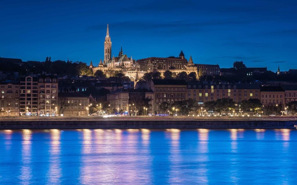 Most, památky Budapešť, Maďarsko