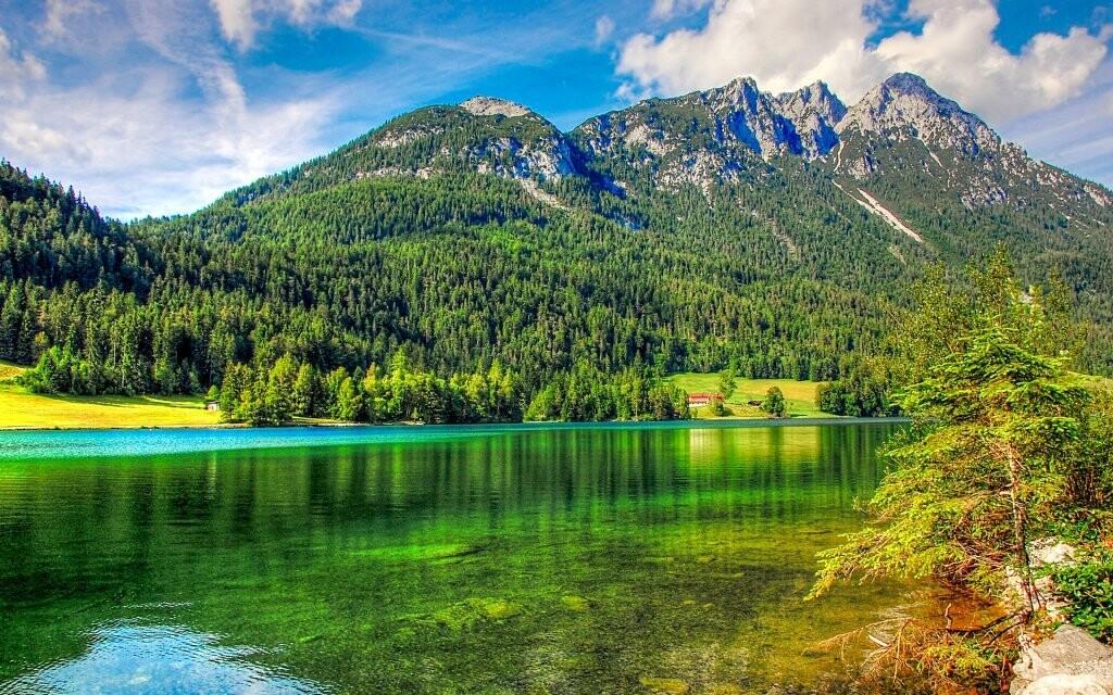 Horská jezera, Dachstein, Rakousko