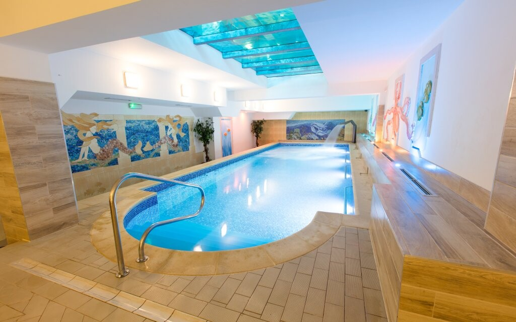 Bazén, wellness, Hotel St. Lukas Sanatorium ****, Polsko