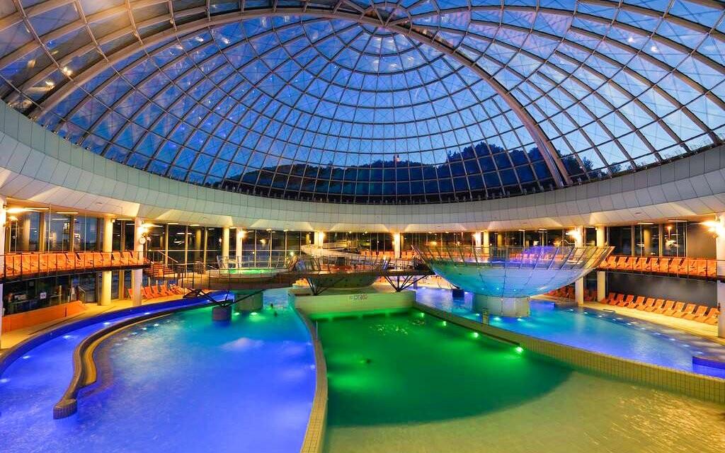 Termální bazény, Hotel Thermana Park Laško ****, Slovinsko