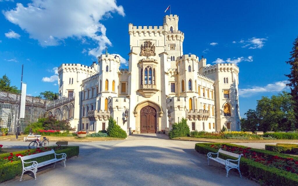 Zámek Hluboká nad Vltavou, památky jižních Čech
