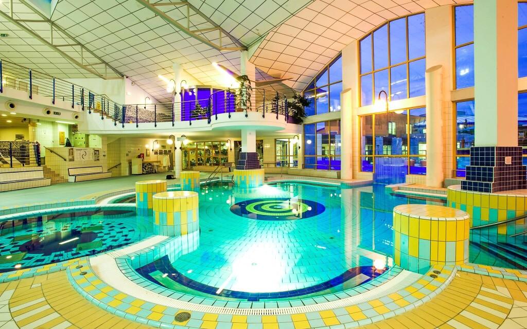 Luxusné kúpele Sárvár sú priamo prepojené s hotelom