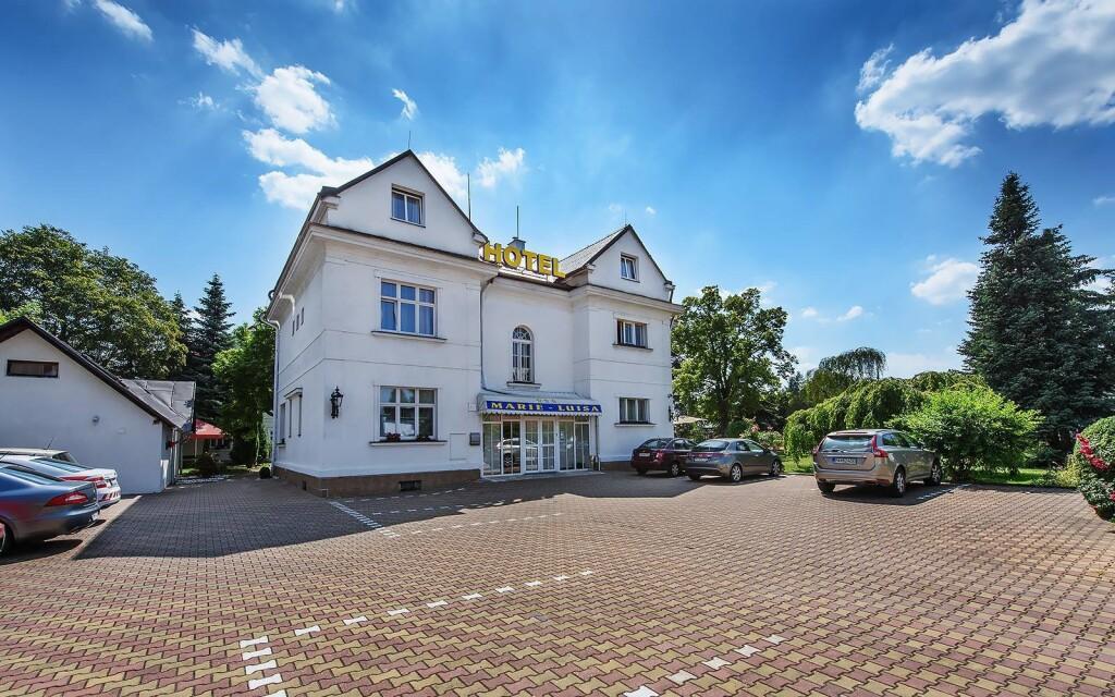 Romantický Hotel Marie-Luisa *** ve vilové části Prahy