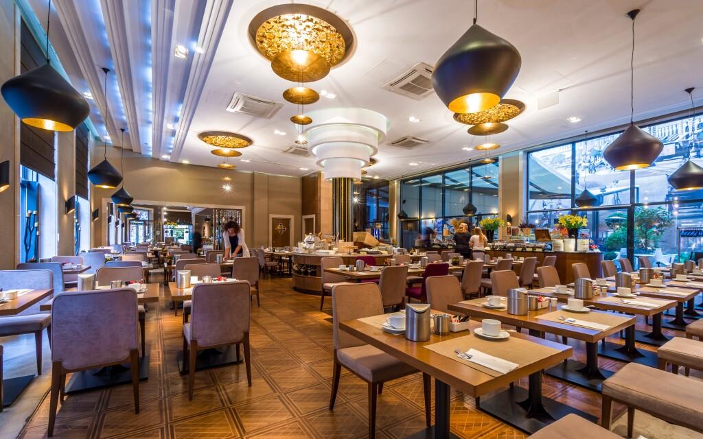 A szálloda étterme kiváló konyhájáról híres