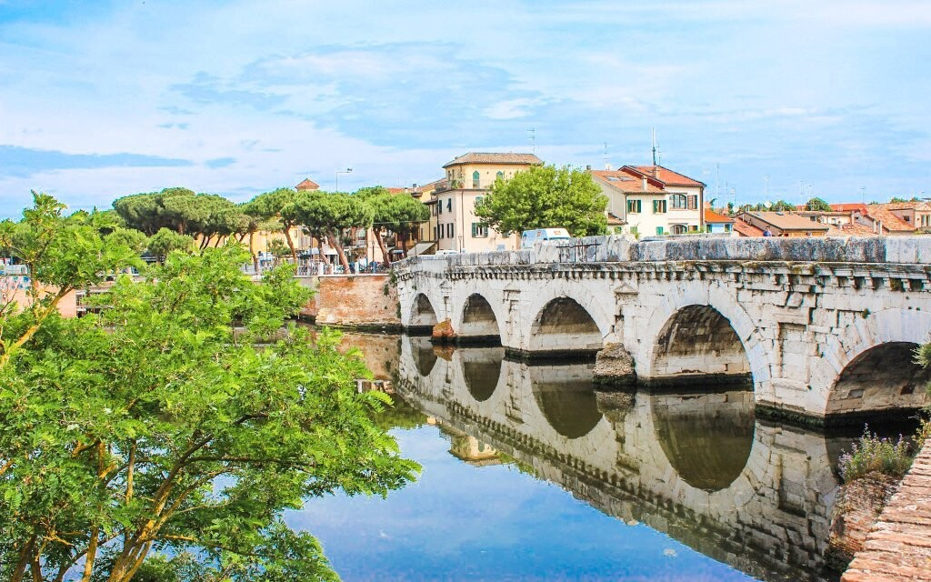 Spoznajte pamiatky historického centra Rimini, Taliansko