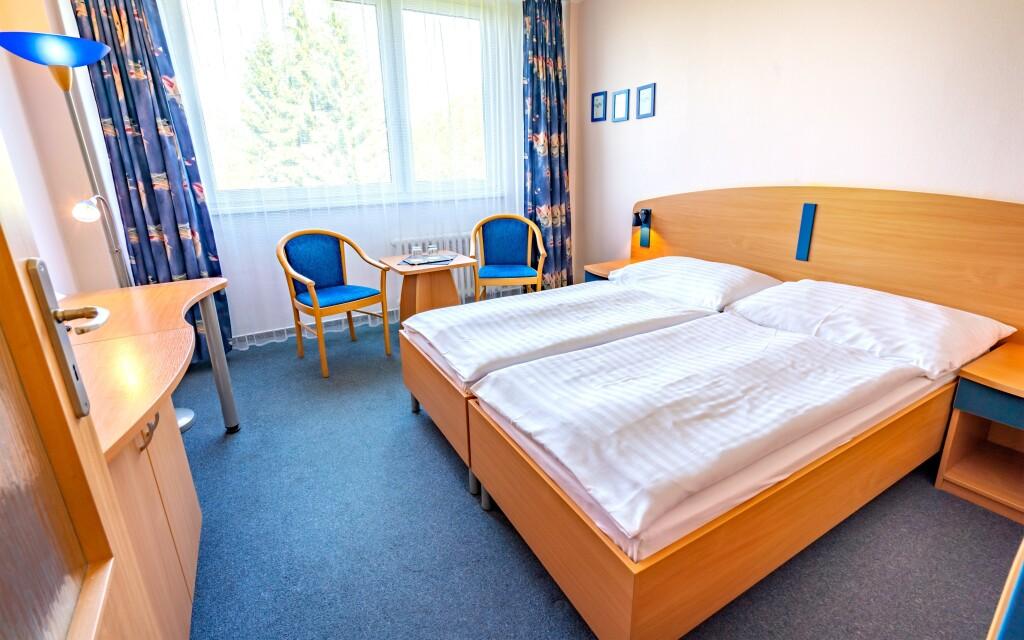 Útulné pokoje, Hotel Harmonie ***, lázně Luhačovice