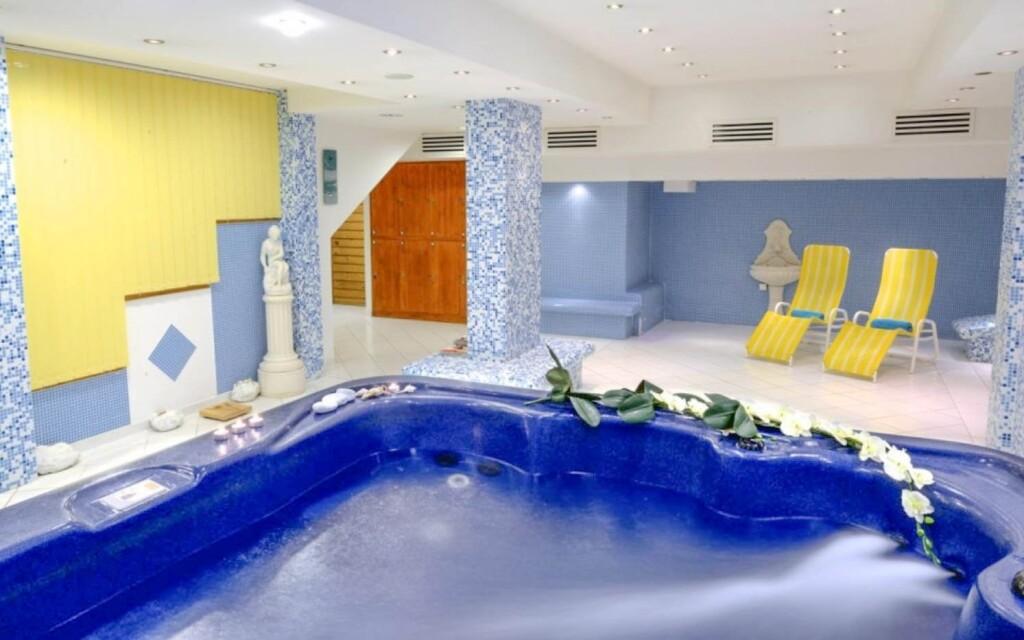 A szálloda gyönyörű wellness-részleggel rendelkezik
