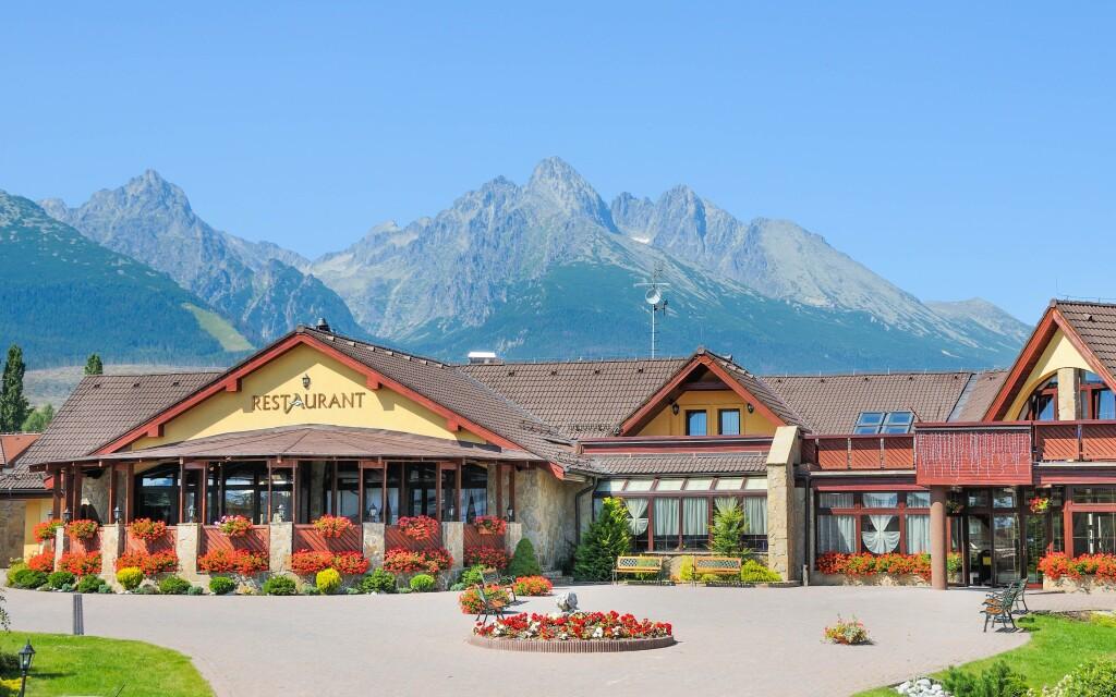 Hotel Amália *** v srdci Vysokých Tatier, Slovensko