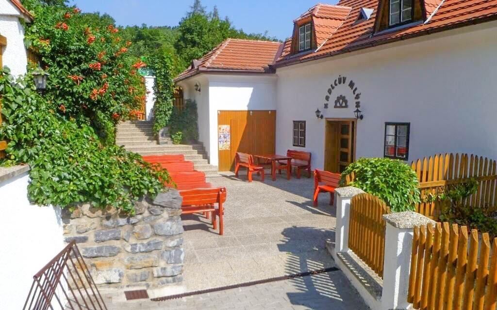 Kadlcův mlýn, malebné Mariánské údolí na okraji Brna